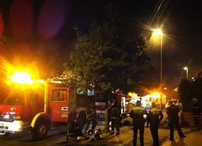 Incendio en Los Espartales, en Alcalá de Henares
