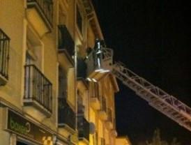 Ocho heridos en el incendio de un edificio en Aranjuez
