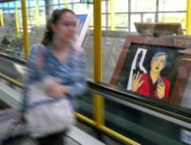 El aeropuerto de Barajas acoge la exposición 'Tiempo de lectura'