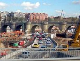Las obras de la M-30 superan los niveles legales de contaminación, según un informe