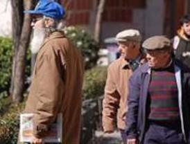 Madrid registra un 2,1 por ciento más de pensiones, con 845,58 euros de media