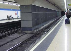 Andén del metro de Madrid