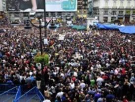 Los organizadores de la marcha 'indignada' no han pedido autorización