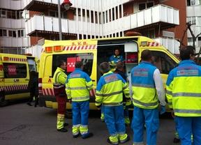 8 heridos tras el incendio de una vivienda en Móstoles