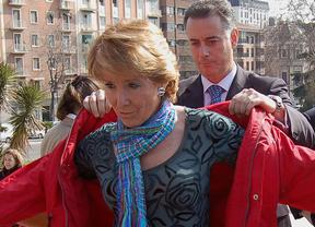 La declaración de Aguirre sobre Gürtel: 4 horas y 48 folios