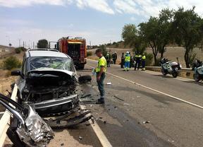 Un fallecido y dos heridos en un choque entre dos vehículos en Valdemoro
