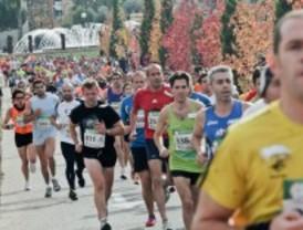 Los corredores salen a las calles de Getafe