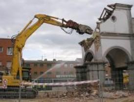 Demolido el antiguo Ayuntamiento de Pozuelo de Alarcón