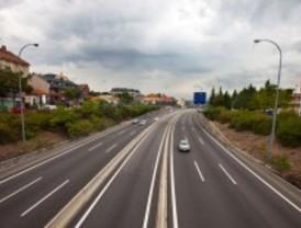 Tranquilidad absoluta en las carreteras madrileñas