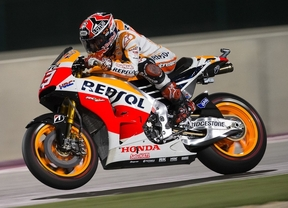 Espectacular victoria de Márquez ante Valentino Rossi