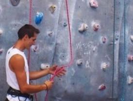 El getafense Carlos Ruano participará en el campeonato de Madrid de escalada en bloque