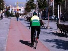 Al menos 16 kilómetros de carril bici más en 2010