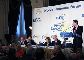 Ignacio González, en el Foro Nueva Economía