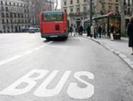 Segunda jornada de paros parciales de autobuses