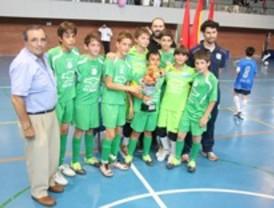 La copa federación de fútbol sala, en Getafe