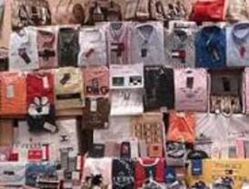 Detenidas 9 personas por falsificar 409.000 prendas de ropa de marca