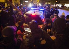 Detenidas 7 personas por los disturbios tras el 'Rodea el Congreso'