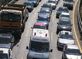 La situación de las carreteras mejora a primera hora de la tarde