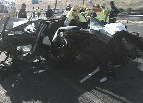 Un hombre de 46 años queda herido grave tras un aparatoso accidente en la M-45, a la altura del PAU de Vallecas