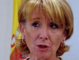 Guerra acusa a Aguirre de no respetar las decisiones del Gobierno