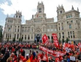 Los sindicatos se vuelcan contra los recortes y la reforma laboral en la manifestación del 1 de Mayo