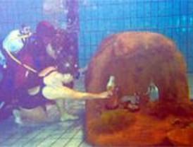 Un belén subacuático permitirá recaudar fondos para los damnificados del terremoto de Pisco
