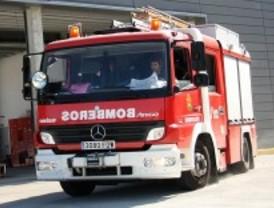 Fallece en Cenicientos tras declararse un incendio en el contenedor en el que habitaba