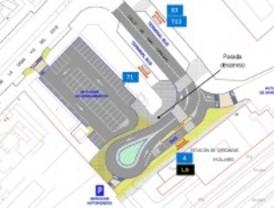 Reordenan las paradas de EMT de Puerta de Arganda