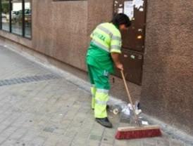 El Ayuntamiento recorta un 13 por ciento el gasto en limpieza viaria