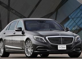 Mercedes S 500 PLUG-IN HYBRID, máximo lujo, mínimo consuno