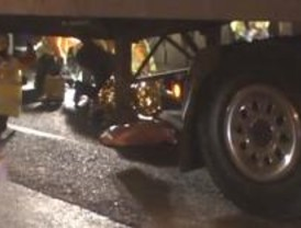 Muere un anciano al ser atropellado por un camión