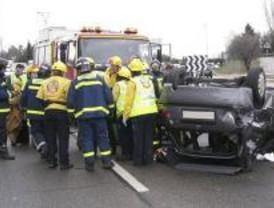 Muere un hombre en un accidente de tráfico en la M-618