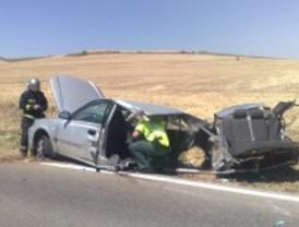 Tres heridos en un accidente en Daganzo de Arriba