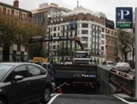 Los aparcamientos de Serrano ya funcionan