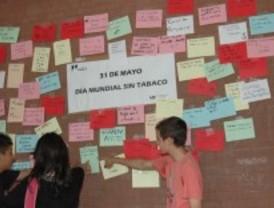 Los centros escolares de Parla dicen no al tabaco