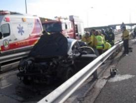 Fallece un hombre de 55 años al salirse de la carretera el coche en el que viajaba