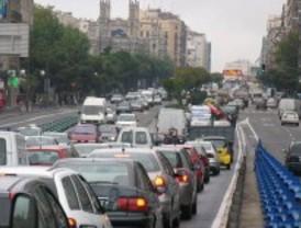 Varias incidencias atascan el tráfico madrileño