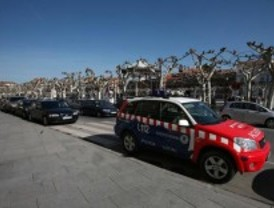 Cuatro heridos y dos detenidos por varias peleas en el primer día de las fiestas de Alcalá