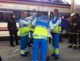 Un joven pierde las dos piernas al ser arrollado por el tren durante una reyerta  en Leganés