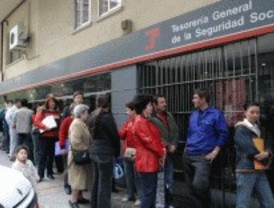 La Seguridad Social perdió 26.025 afiliados en 2010 en la Comunidad de Madrid