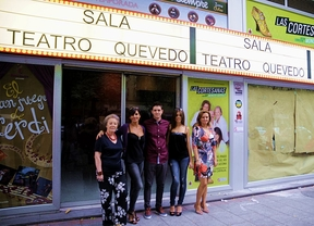 El teatro Quevedo pone su primera butaca