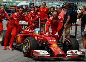Ferrari continua 'cazando moscas'