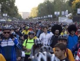La Fiesta de la Bicicleta y el Open Air Gran Vía harán imposible circular por Madrid