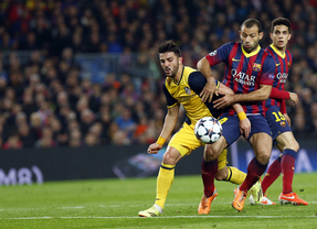Barça y Atlético firman otras 'tablas'