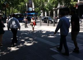 El tráfico recupera la normalidad en la calle Génova tras la aparición de una mochila sospechosa