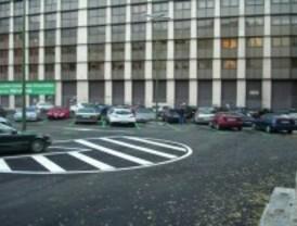 El polideportivo de la calle Alcántara se queda en parking