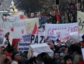 Miles de personas se manifiestan contra el ataque a Gaza