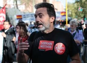 Valiente presenta a Ahora Madrid su baja de IU
