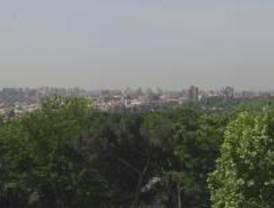Madrid registra altos niveles de ozono por la intrusión de una masa de aire africano