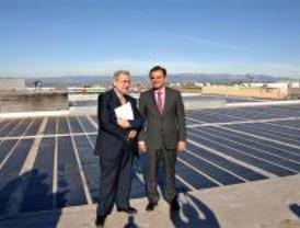 El centro comercial Equinoccio estrena planta solar fotovoltáica